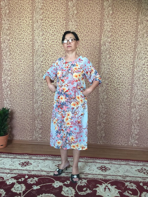 Платье сптичками от Klarissa