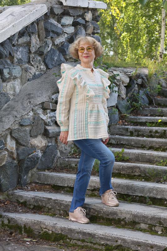 Тамбовская блузка скрылышками от Любовь Петровна