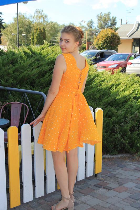 Платье «Бирюзовое&желтое» от katrinka_n