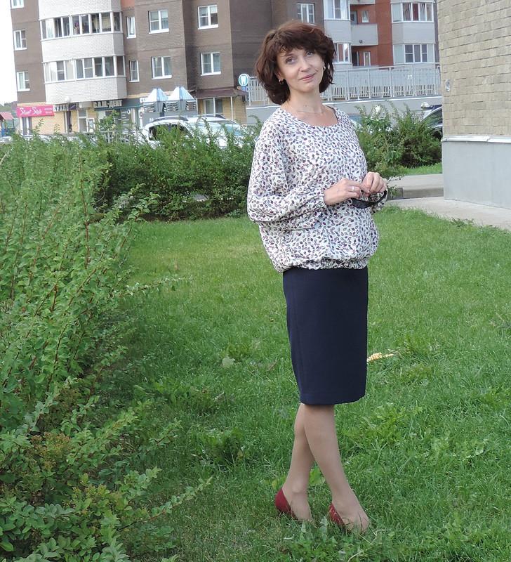 Блузка изпоследнего ШЛиБа. «Пузырчатая»)) от julia.golubkova