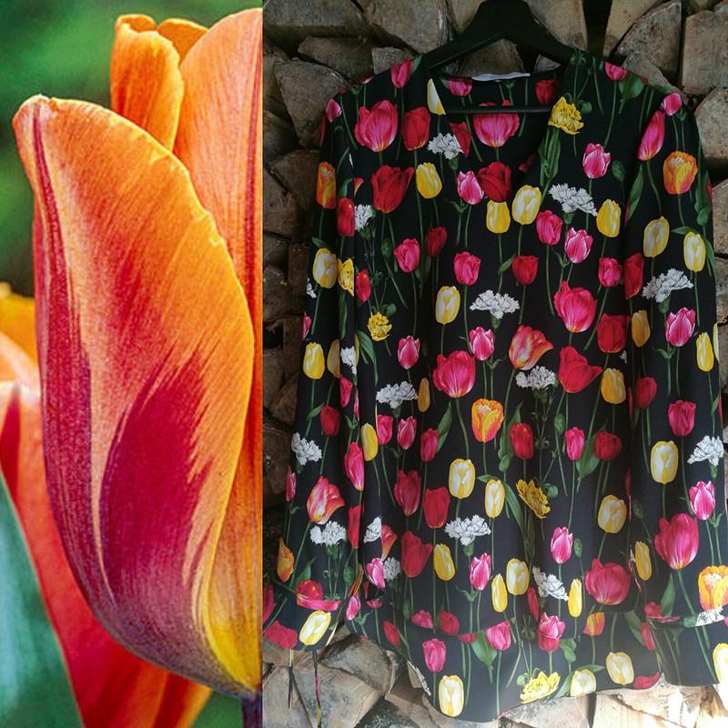 Блузка «Tulips»