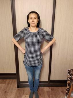 Работа с названием Первая блузка