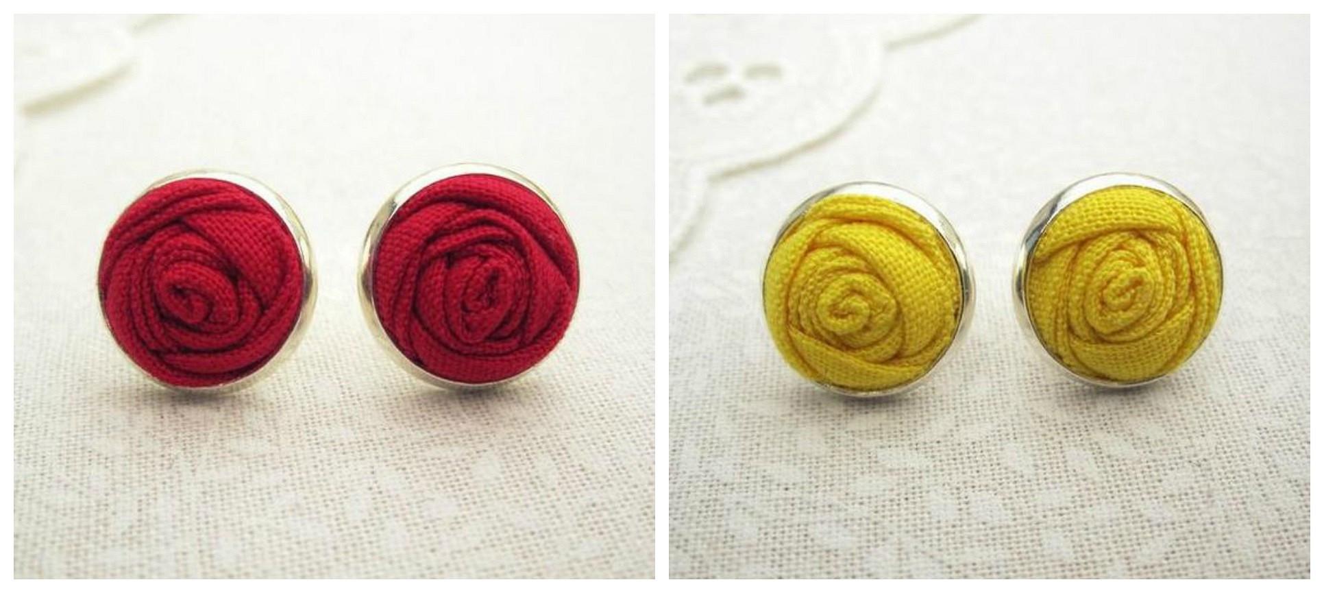 Мастер-класс: декоративные пуговицы ввиде бутона розы