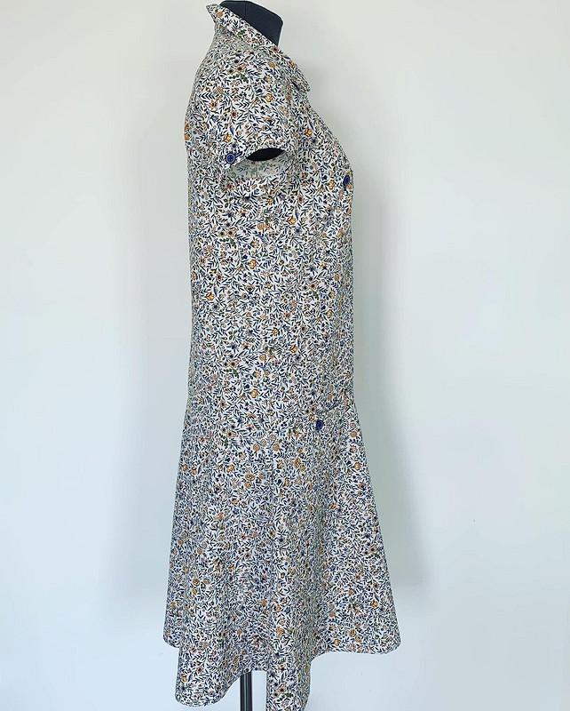 Просторное платье-рубашка от @dresscodeless