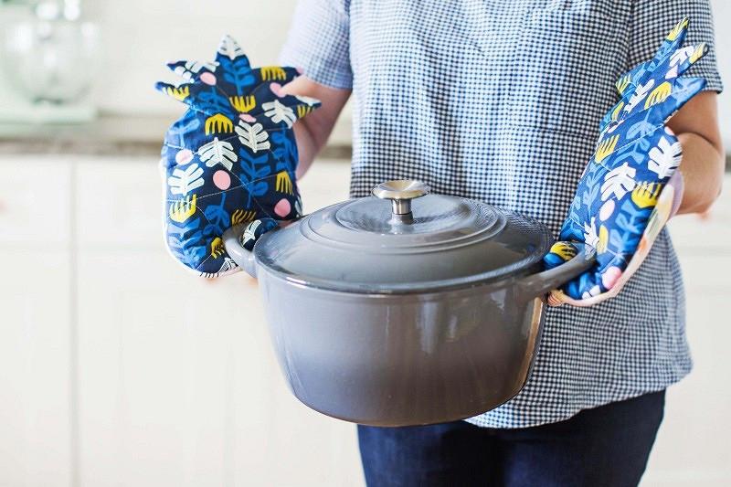 Кухонная рукавица-ананас: мастер-класс