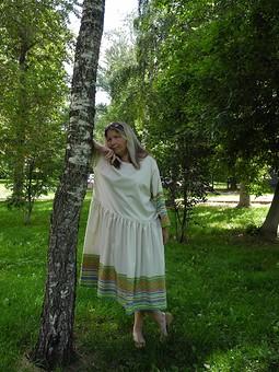 Работа с названием Платье: бохо вариация на тему августа