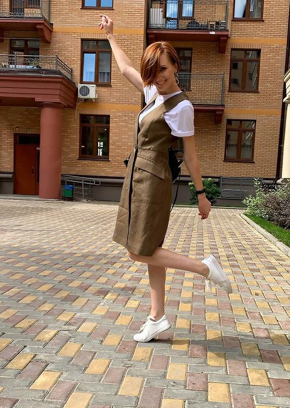 Сарафан-жилет от Вера Волхонская