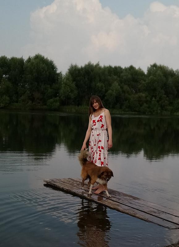 Сарафан «Алый мак» от Ольга Z
