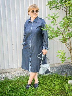 Работа с названием Платье-рубашка, очередное, но не последнее...