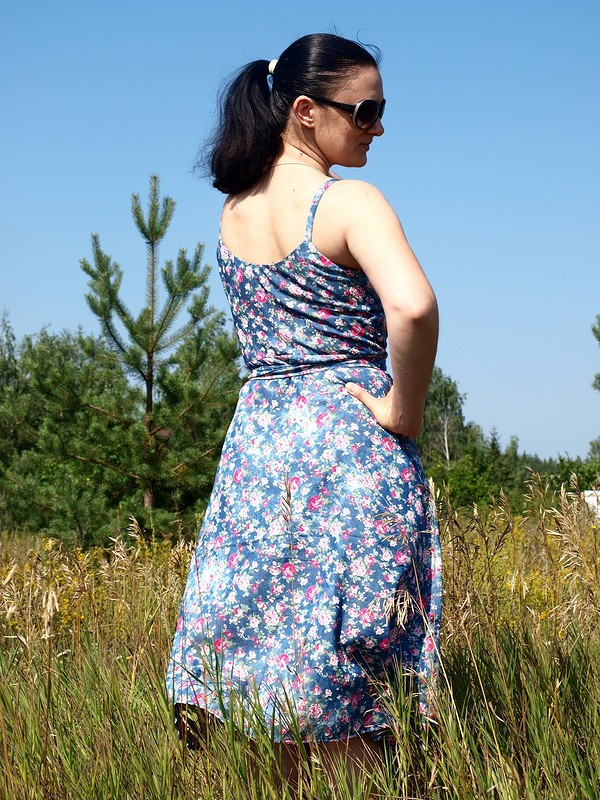 Сарафан «Я так хочу, чтобы лето некончалось!» от Викуля11