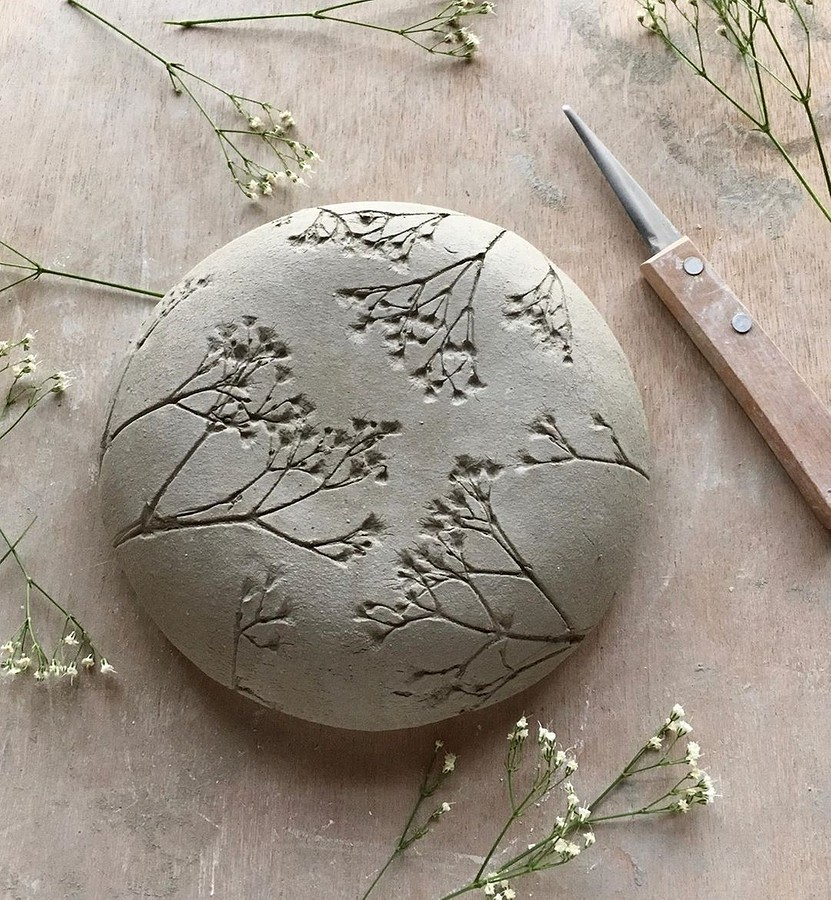Керамика сузорами, созданными природой: рукодельный instagram недели