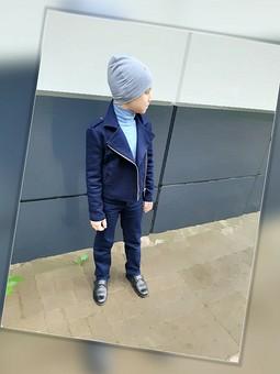 Работа с названием Джинсовая куртка-косуха