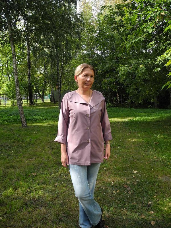 Блуза превращается вжакет от tschayka