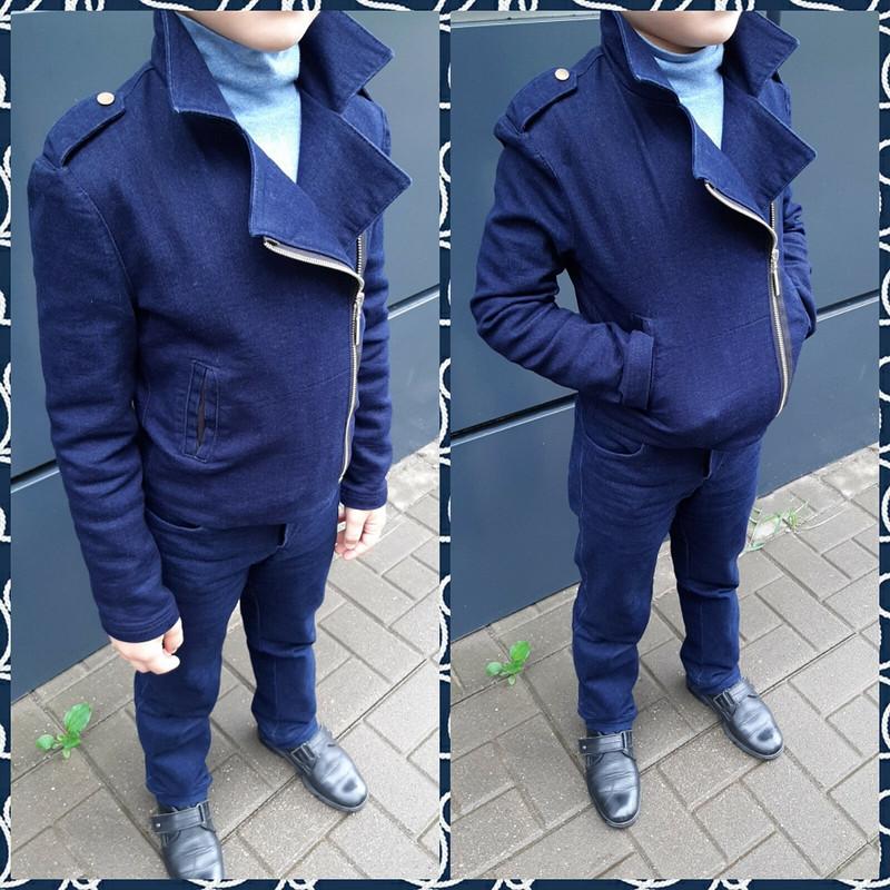 Джинсовая куртка-косуха от Maritaimi