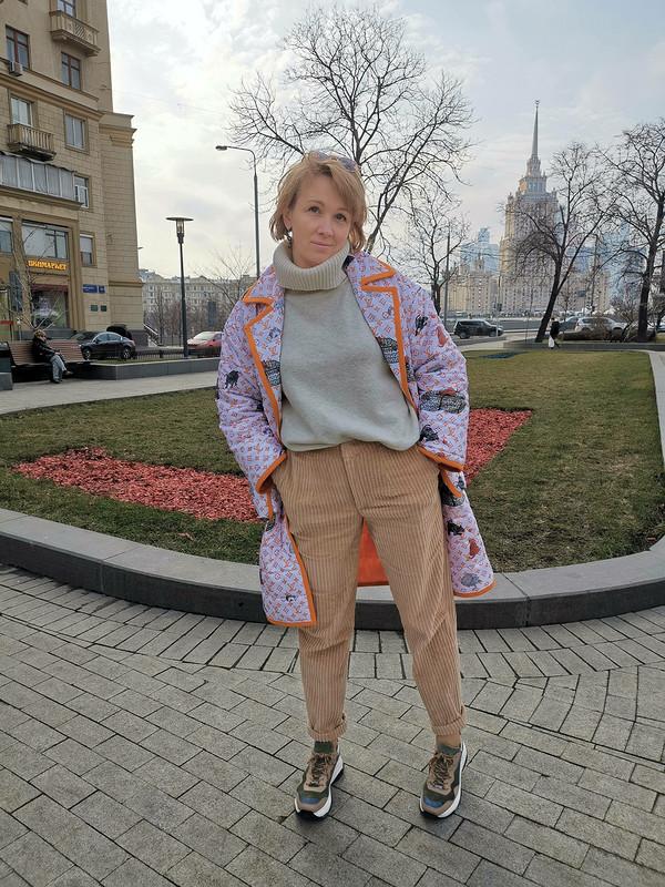 Пальто «Louis Vuitton по‑нашему!» от Джульетта Викторовна