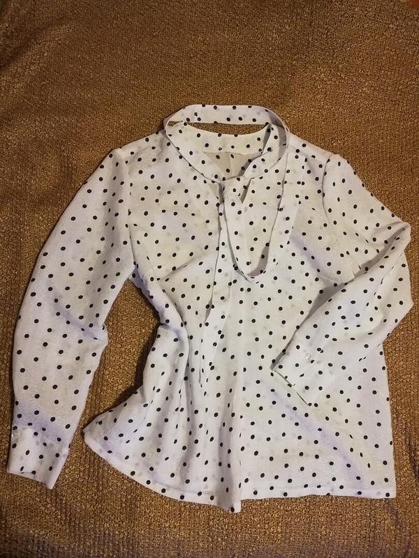 Блузка «Раз горошек, два горошек...» от MariyaKo