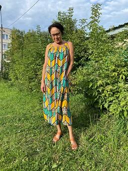 Работа с названием Летнее платье в этническом стиле