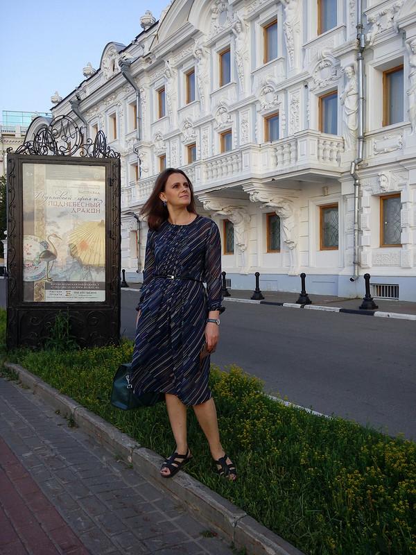 Платье изшифона от agv73