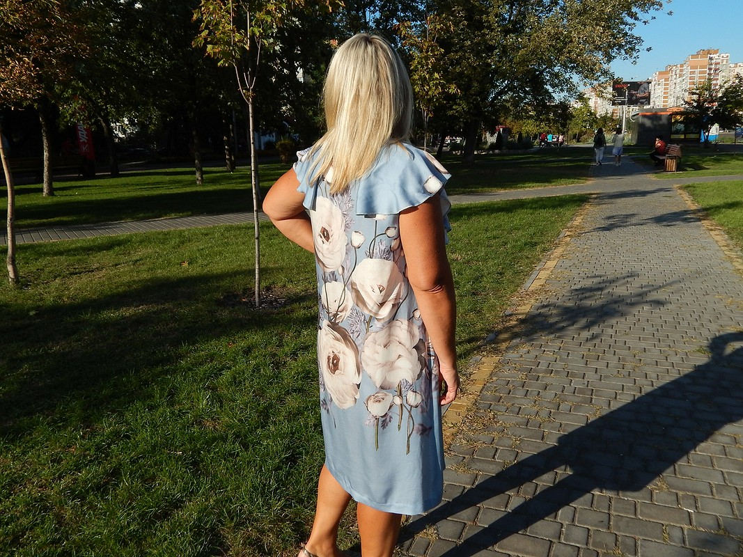 Платье своланами от musya
