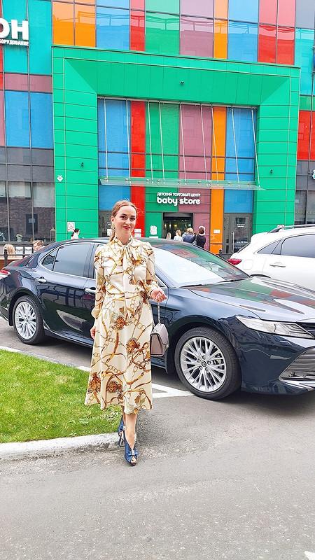 Платье «В Москву затканями»