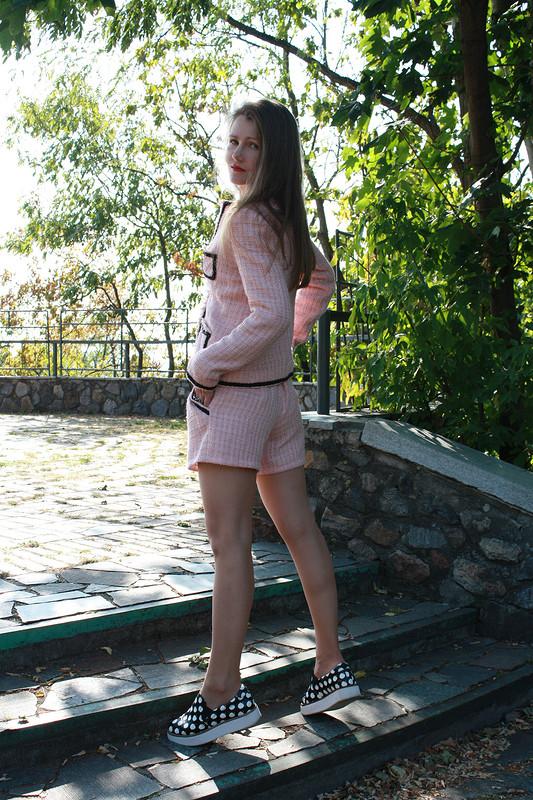 Мое видение костюма встиле Шанель: жакет ишорты от Fern13