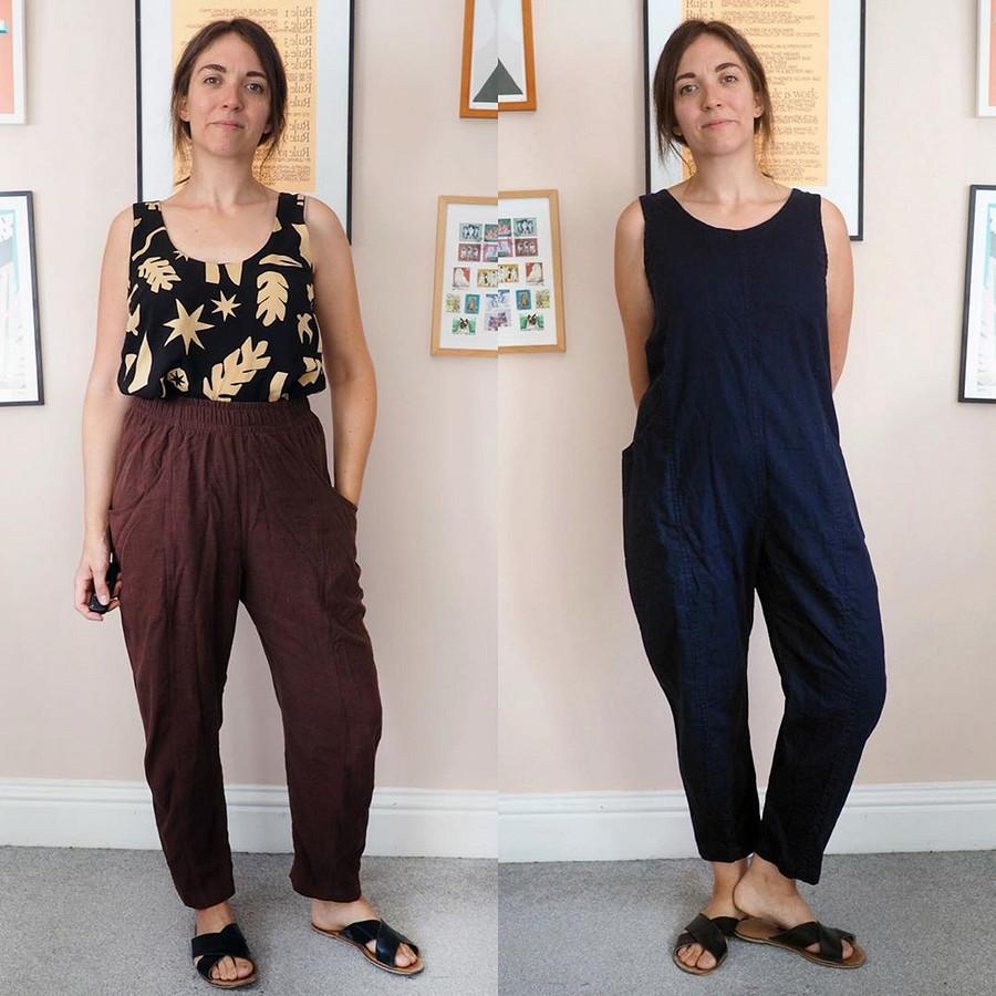 Создание гардероба своими руками — это вполне реализуемо иинтересно: швейный instagram недели
