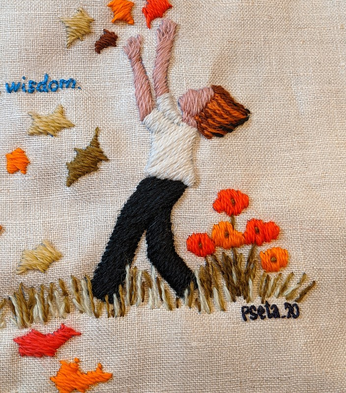 Винтаж из1971 года: вышивка