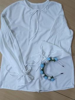 Работа с названием Лёгкая, воздушная, невесомая блузка