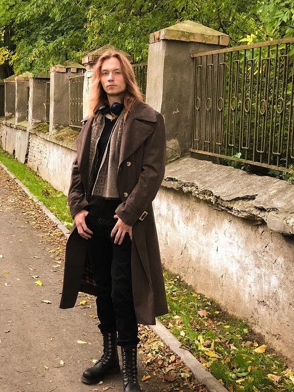 Тренч-пальто дляВлада от вероникавера