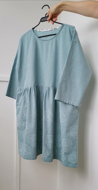 Платье оверзайз