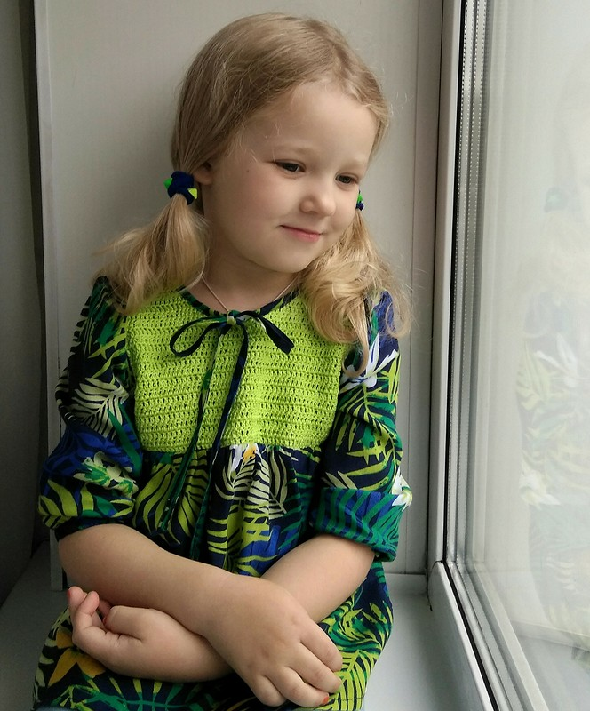Блузка «Травка-Муравка» от elena_burdalove