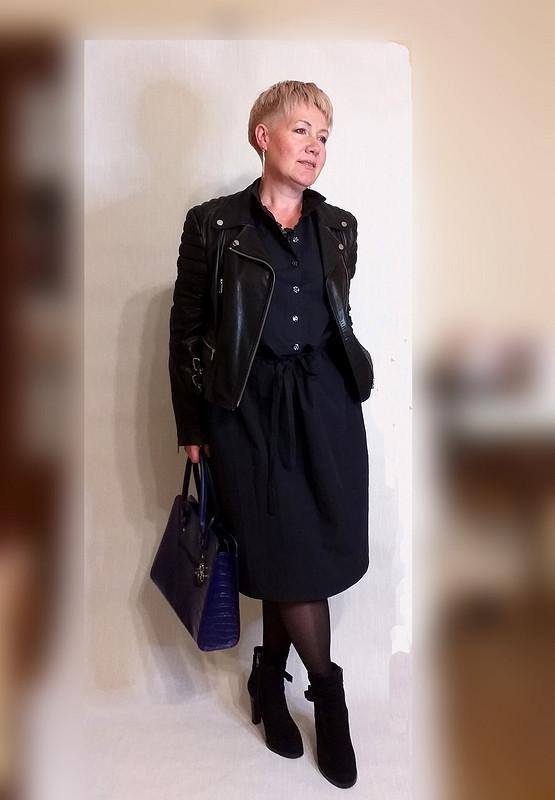 Немаленькое черное платье от  Галина Позднякова