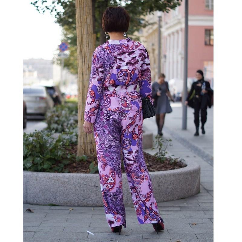 Брючный костюм впижамном стиле от OLGA_POLU