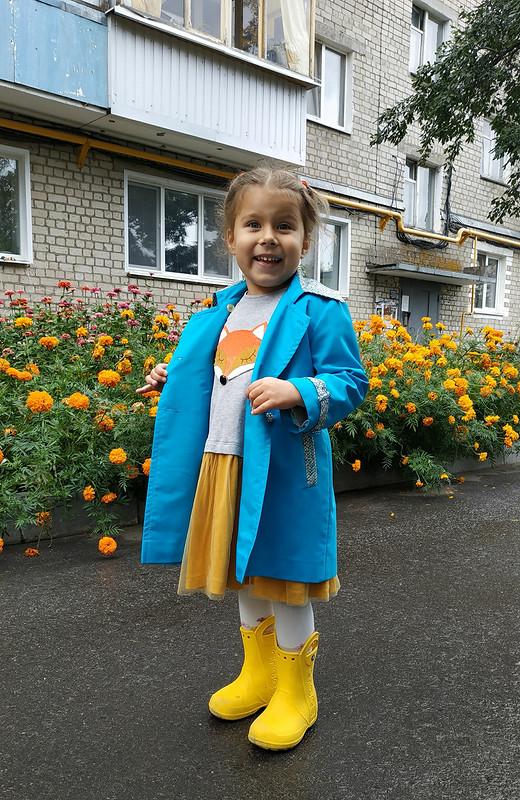 Весна, деревня, новый тренч от Masya