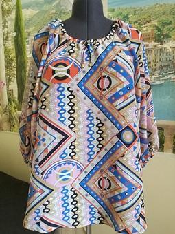 Работа с названием Платье превращается... в блузку!!!