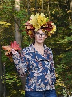 Работа с названием Осенняя куртка-косуха