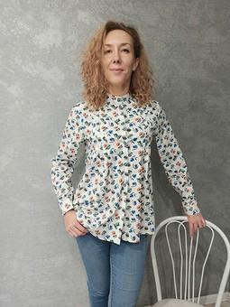 Работа с названием Блуза из хлопка для дочери