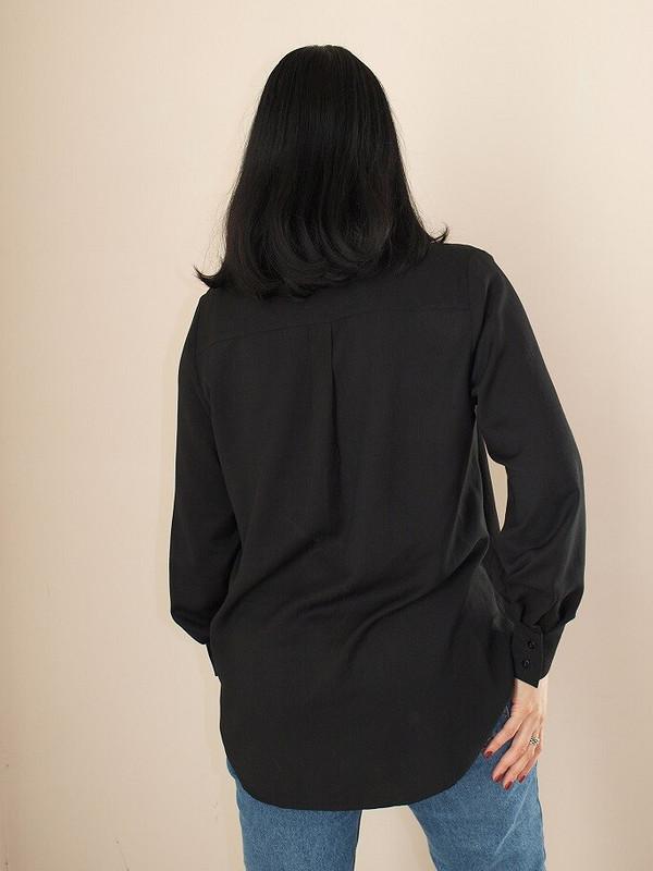 Простая черная рубашка от Викуля11