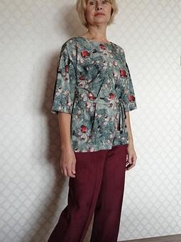 Работа с названием Блуза-туника