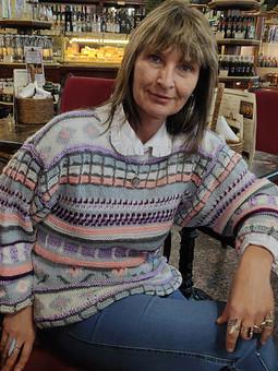 Работа с названием Внезапный пуловер