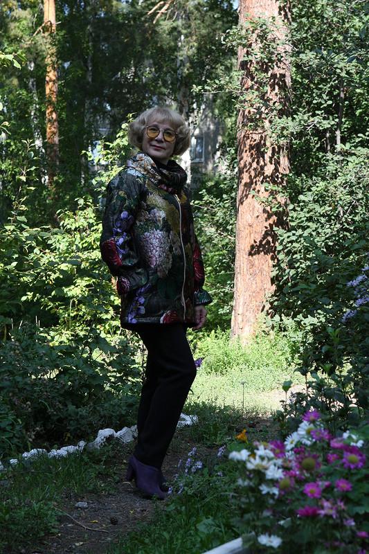 Куртка «Не судите меня строго...» от Любовь Петровна
