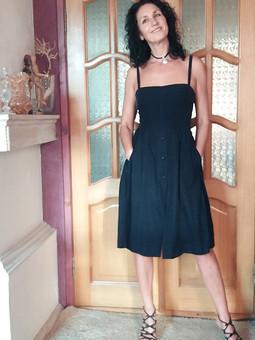 Работа с названием Коктейльное платье