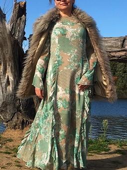 Работа с названием Платье MAXI
