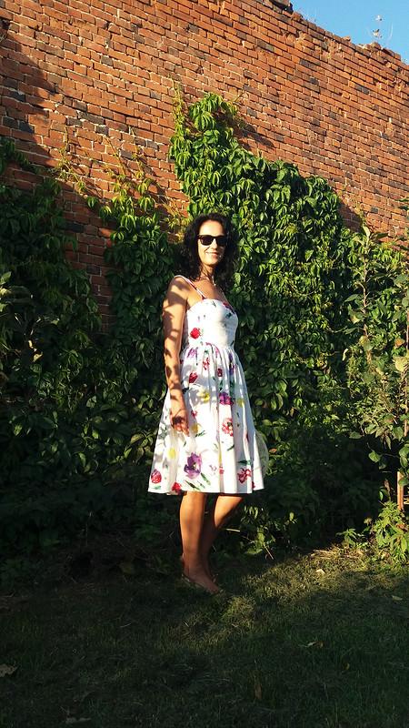 Летнее платье встиле «Dolce vita» от Татьяна Бужинская