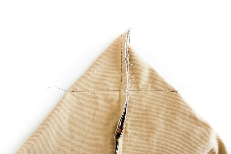 Большая сумка наподкладке скарманами: мастер-класс