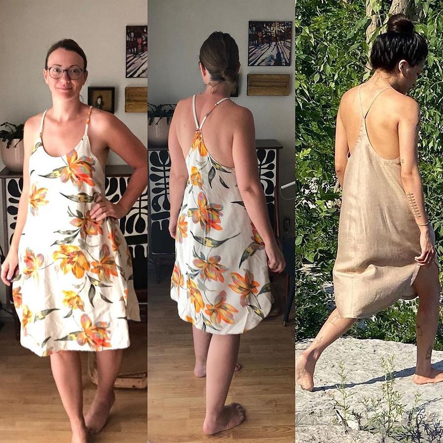Не могу позволить себе купить это платье — тогда я сошью его: швейный instagram недели