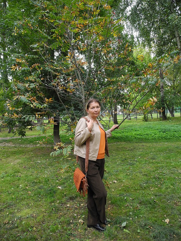 Ветровка ибрюки «Осенний привет из80-х» от tschayka