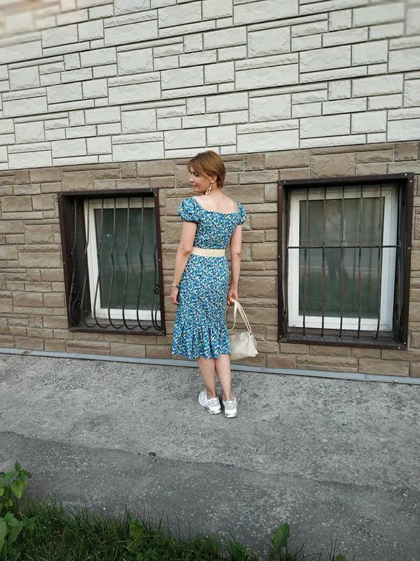 Платье вцветочек от Савирина