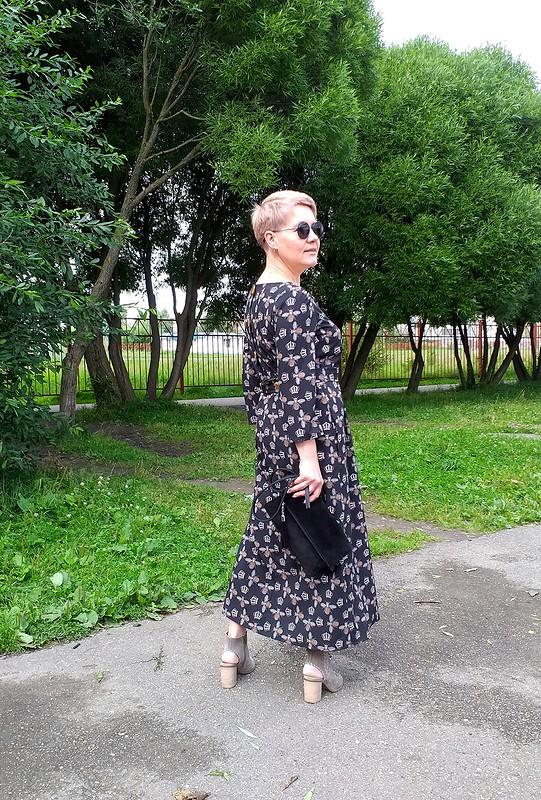 Платье скоролевскими пчелами от  Галина Позднякова