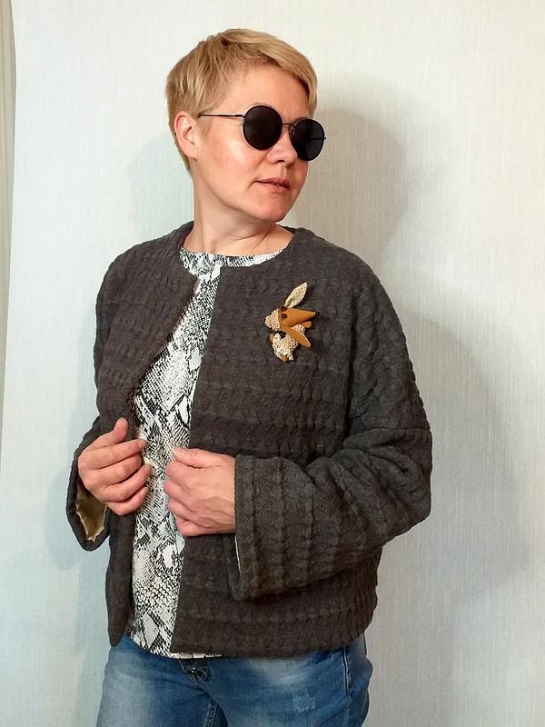 Жакет трикотажный от  Галина Позднякова